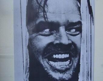 The Shining Jack Nicholson poster 24 x 36