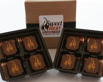 Carolina Reaper Milk Chocolate 8pc