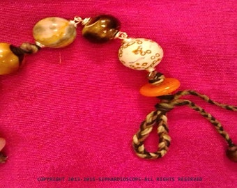 Carefree - beaded bracelet