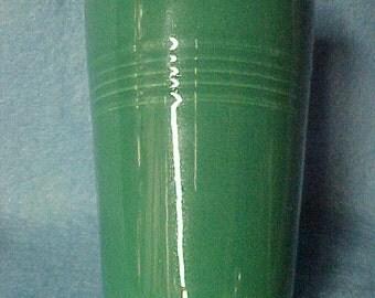 Homer Laughlin Harlequin Tumbler Water Spruce Green