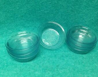 "Fire-King Glass Sapphire Blue Philbe Individual Pot Pie Baker 4 1/4"""