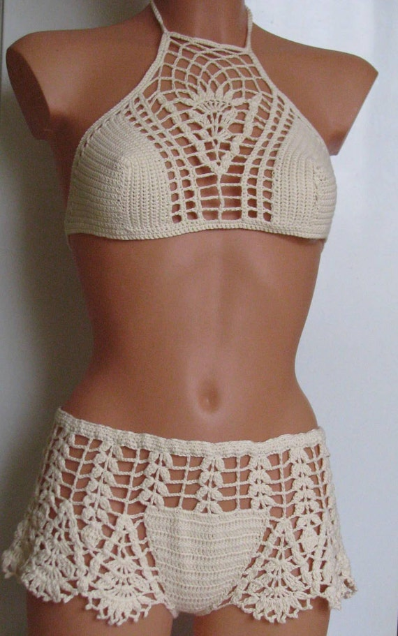 Crochet Swimsuit : ... Swimwear, Beach Wear, Summer Trends, Womens swimsuit. Sexy bikini