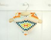 Bibdana | Baby Bandana Bib | FREE SHIPPING | Serape Fabric | Cotton Bib | Toddler Bandana | Hipster Baby Bib | Drool Bib | Baby Gift | CPSIA