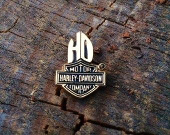 Vintage 80's Harley Davidson Pin