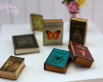 Dolls House miniature books