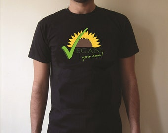 VEGAN T-SHIRT,MAGLIETTE,italian design,fashion,bio,camiseta,original,uomo sunflower