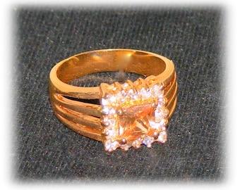 PINK ICE RING (sz 8)