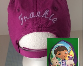 Disney Doc McStuffins Baseball Cap - Girls  Personalized