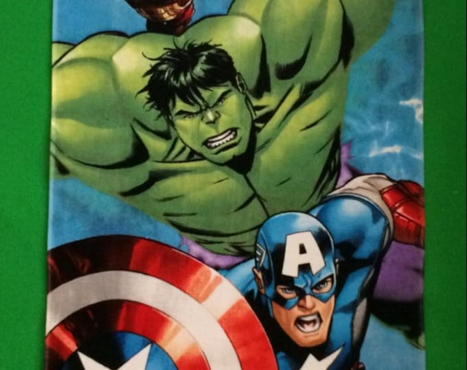 Marvel Avengers Charging Assembly Beach Towel - Personalized Beach Towel