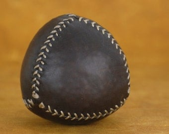 Juggling leather ball