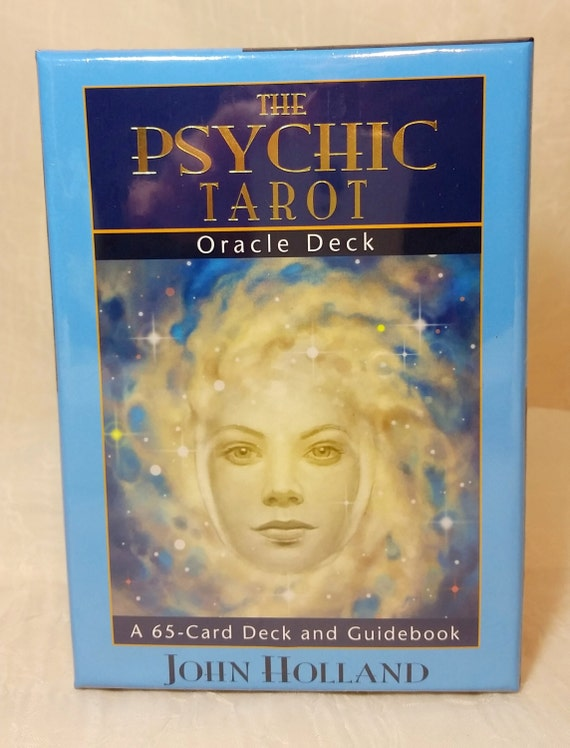 Psychic Tarot Cards Meanings: Psychic Tarot Oracle Deck By John Holland New By