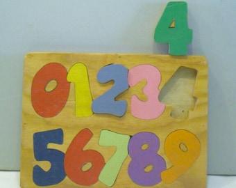 Inlaid Number Puzzle