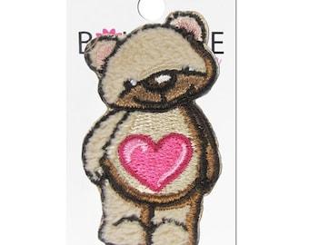 Teddy Bear Applique