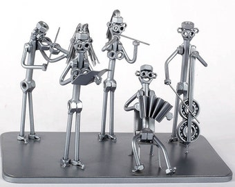Classical orchestra - MetalDiorama Metal Art Sculpture