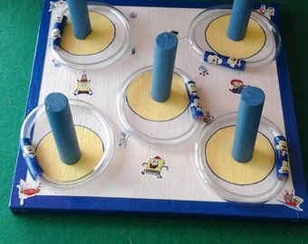 Tabletop Ring toss/toddlers/young children