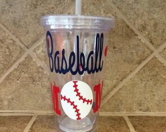 Baseball Mom cup