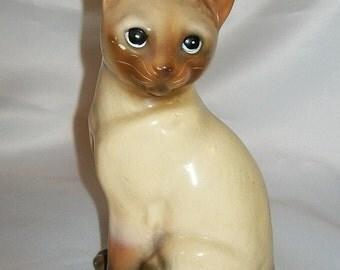 Figurine Vintage Siamese Cat