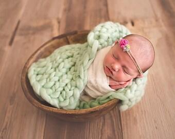 Knit Mini Blanket