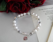 Wedding Gift For Future Step Daughter : Wedding bracelet for your future daughter-in-law and a personalized ...
