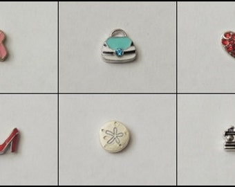Individual charms for locket