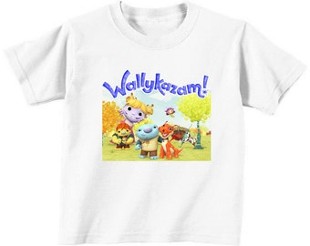 Custom Wallykazam t-shirt  (colors)