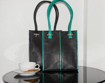 SALE: Midi Sazerac Sea Snake leather shopper Handbag