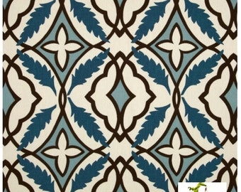 SALE Premier Prints Eden Cadet - Home Decorator Fabric - Premier Prints Fabric -  By the Half Yard