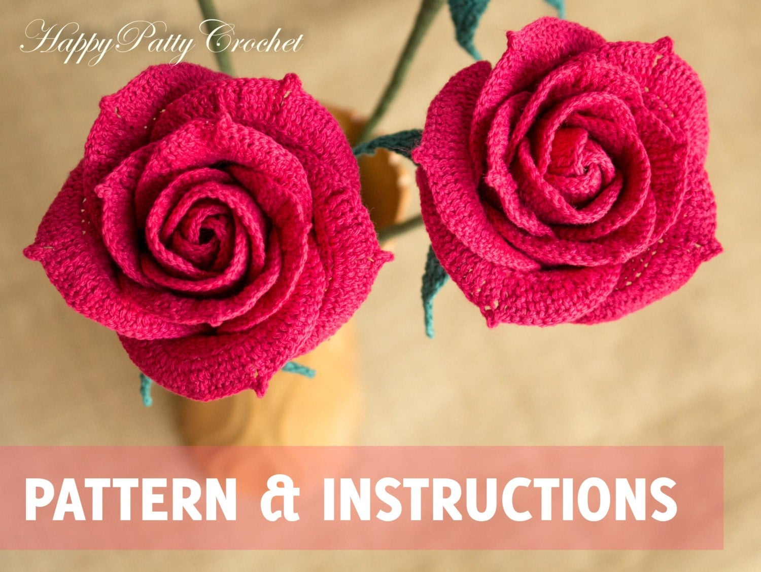 Crochet pattern mini crochet flower pattern small crochet crochet rose pattern crochet flower pattern crochet rose for bouquet and decoration crochet bankloansurffo Images