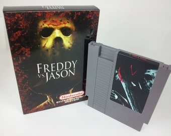 Freddy VS Jason - Available Box Only, Game Only, or Game in Box!