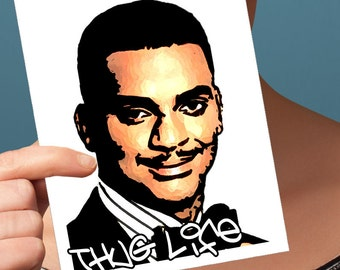 Funny Birthday Card | Carlton Banks | Funny Birthday Cards 30Th Birthday Carlton Card Cute Card Best Friend Birthday Gift For Her Best
