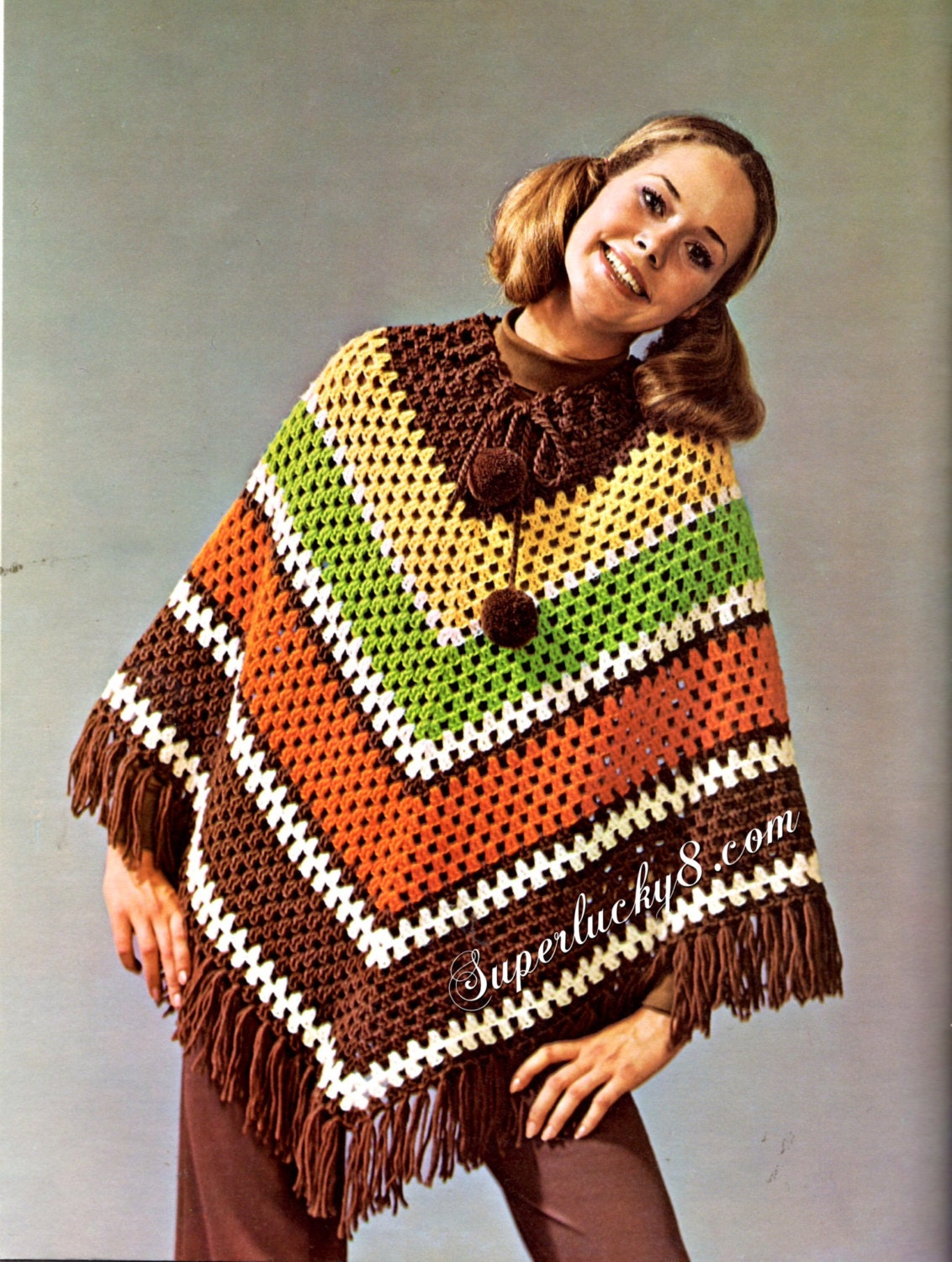 Free Crochet Poncho Patterns To Download ~ Dancox for .