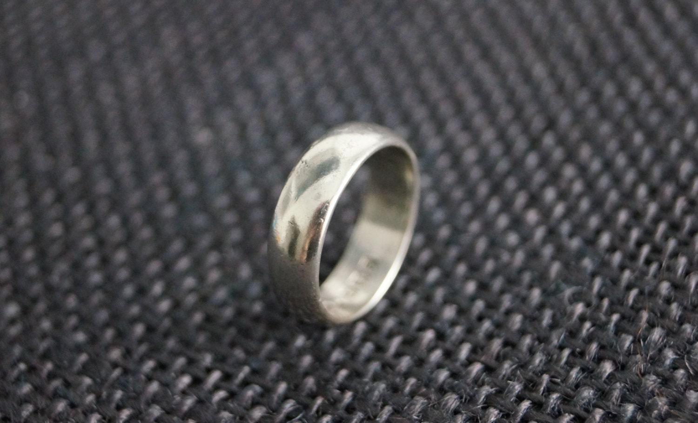 Vintage Sterling Silver Ring Vintage Wedding Band Vintage