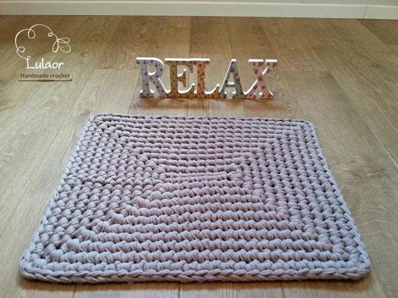 Sale crochet rug tshirt yarn rug floor mat tshirt yarn