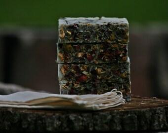 Vegan/Cruelty-free/All Natural Bath Tea Cold Process Soap