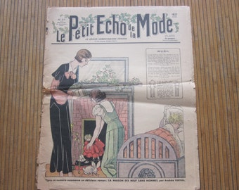 french mode magazine year 1932