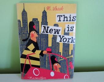 This is New York by Miroslav Sasek - Vintage Children Book