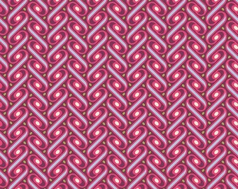 Joel Dewberry Heirloom Ribbon Lattice in Fuchsia JD57
