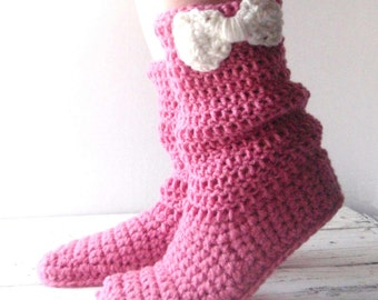 Slippers, womens slippers, crochet slippers, adult slippers, women's slippers, boot slippers, crocheted slippers, slippers women