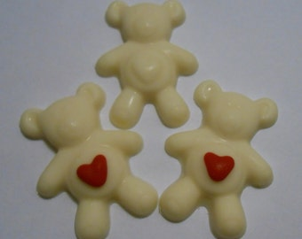 White Chocolate Teddy Bears