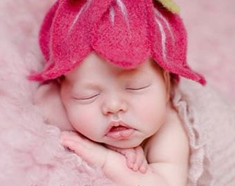 Baby Hat baby photography blossom for girls
