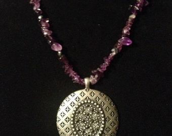 SALE** Amethyst necklace