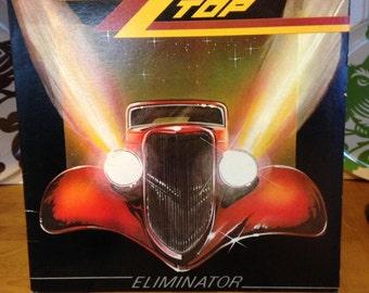 ZZ Top Eliminator Record Album