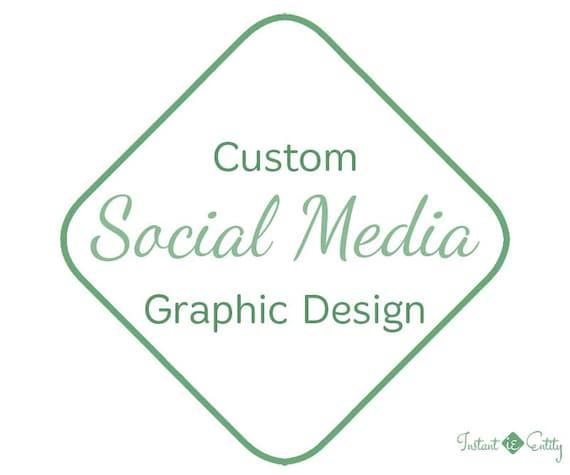 Custom Social Media Graphic Design | Facebook / Twitter / Pinterest / Google+ / Instagram / Blog Graphic | Social Media Branding | Brand SMM