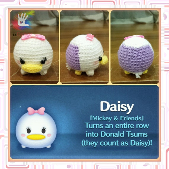 Tsum Tsum Daisy Pattern by uDezignCrafts on Etsy