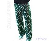"St. Patrick's Day Shamrock Pants 35"" x 30"""