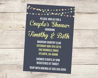 Printable Custom Couple's Shower Invitation