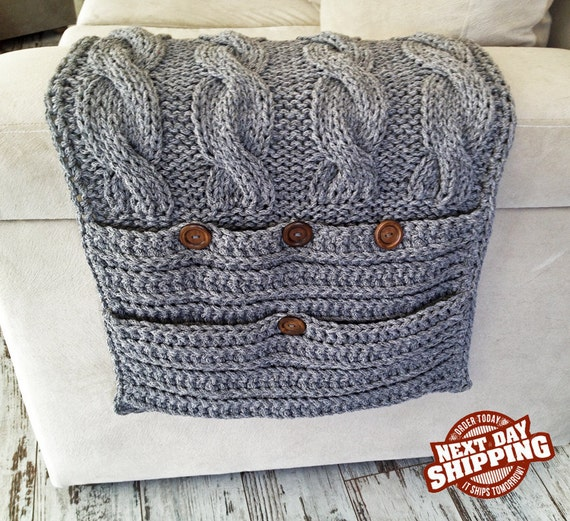 Knitting Pattern Remote Control Holder : New Colors New collection 6 Pockets Gray Sofa by StudioCool