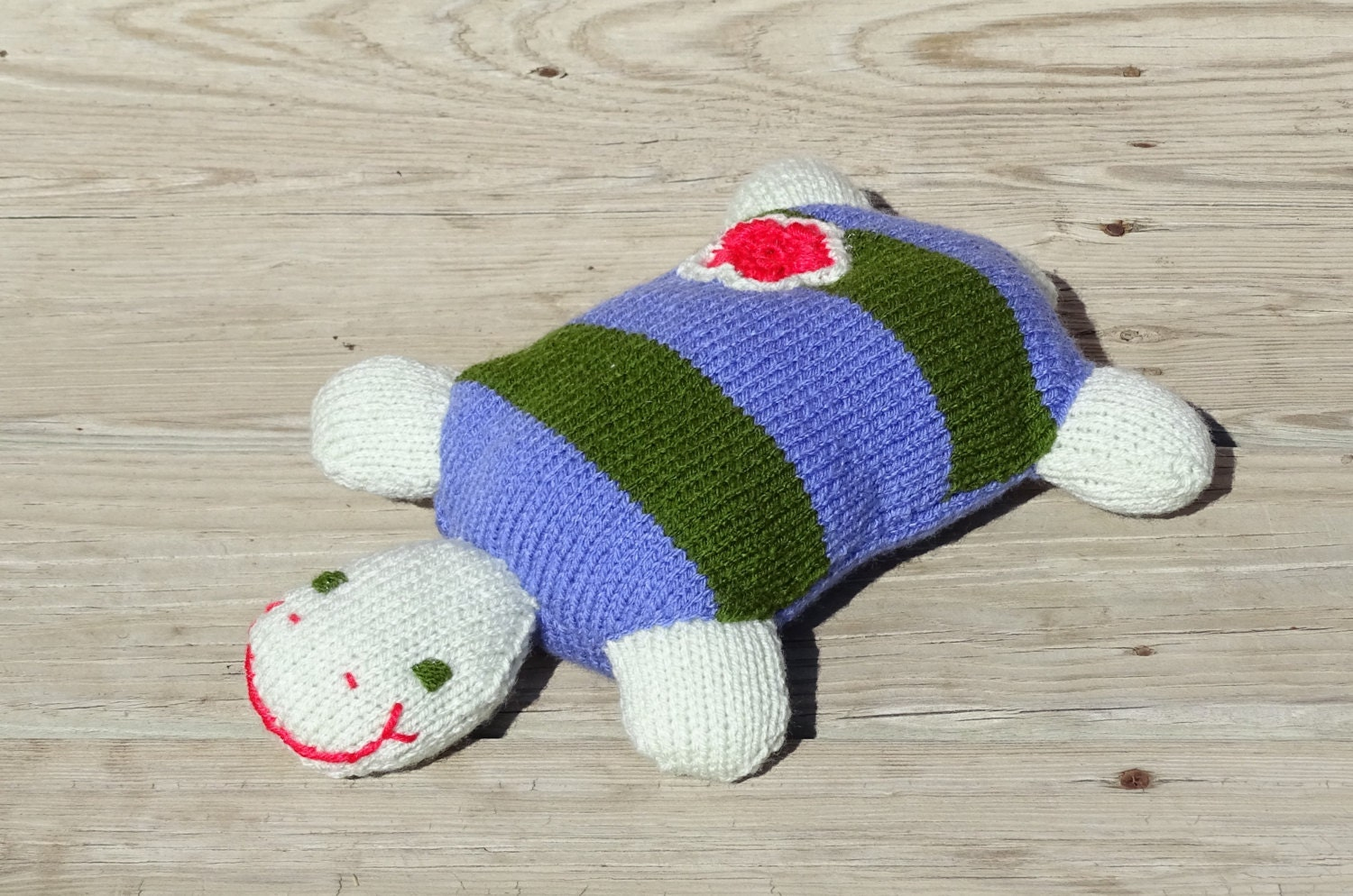 Knitting Patterns Turtle Toy : Knit Toy Knitted Turtle Plush Turtle Stuffed by KnittingDrops