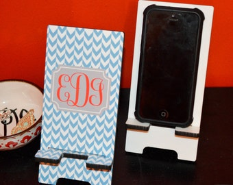 FREE DECAL w/ PURCHASE - Monogrammed Cell Phone Stand