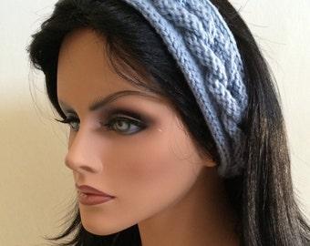 Braided Knitted Headband Pattern PDF Digital Download